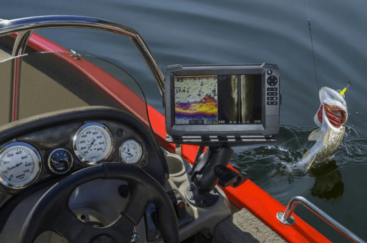 Catching Fish With Fishfinder