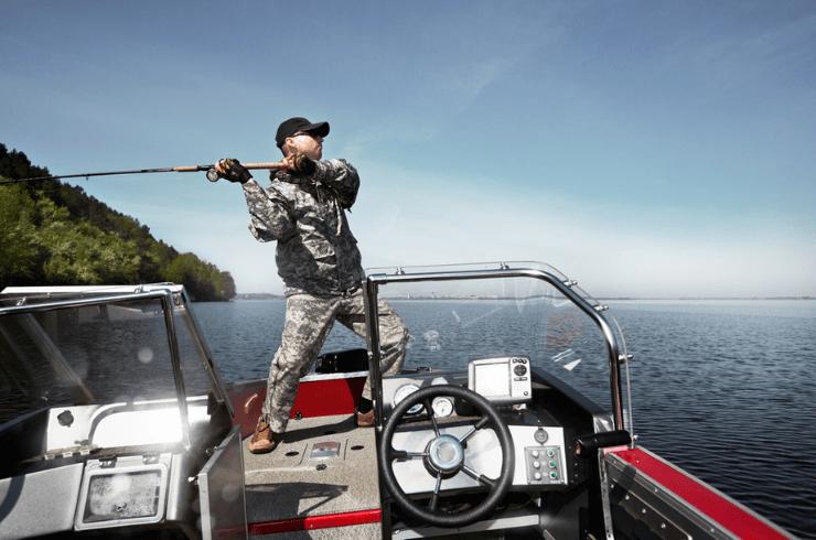 Fishfinder, Chartplotter Combo