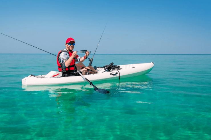 Fishing in Kayak